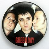 Green Day - 'Group' Large Button Badge